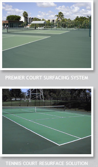 Premier Court Surfacing System/Guardian Crack Repair System